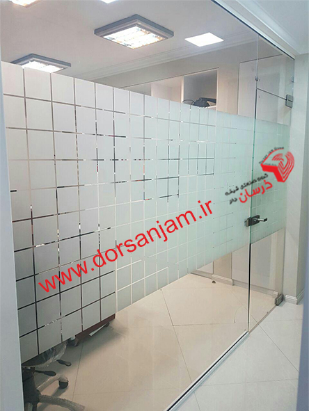 sand blasted glass