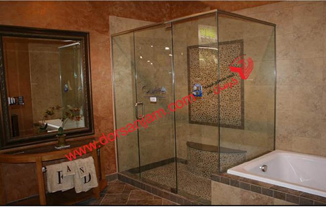 شیشه دوردوشی   شیشه حمام 7