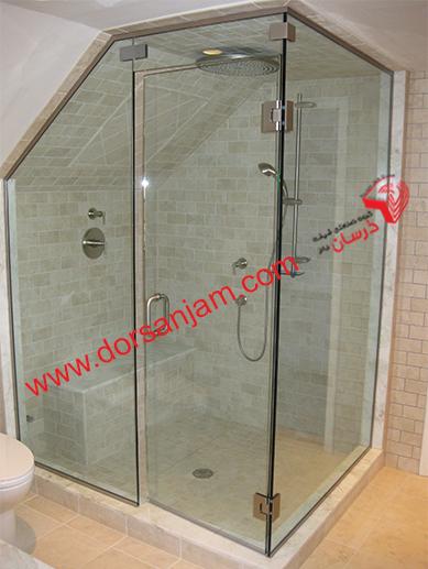 شیشه دوردوشی   شیشه حمام 8
