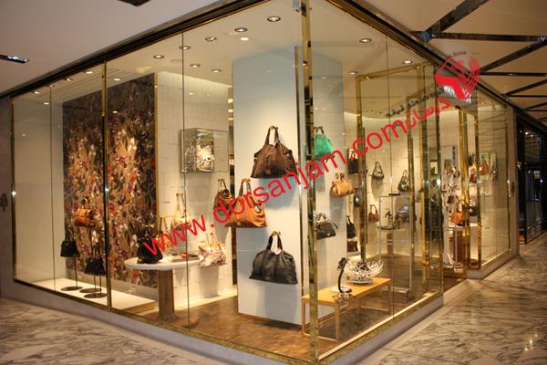 شیشه مغازه | اجرای شیشه فروشگاه