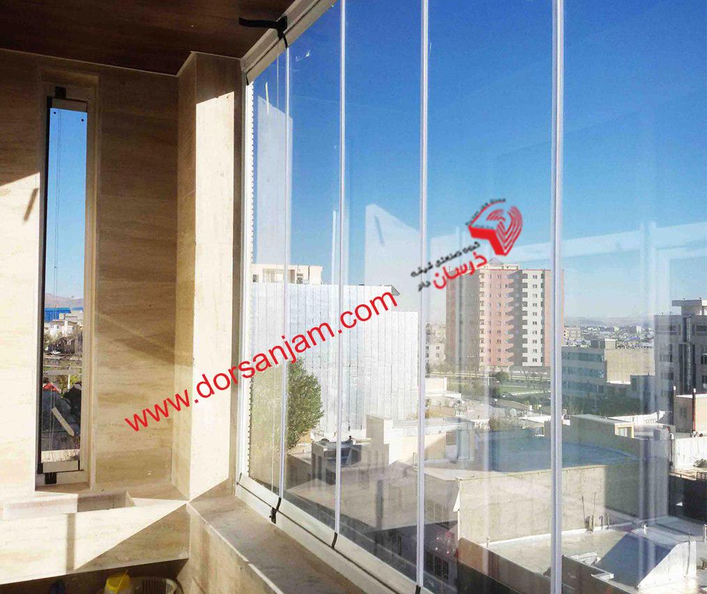 بالکن شیشه ای | فروش بالکن شیشه ای 1