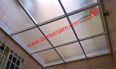 نصب کف شیشه ای و سقف شیشه ای 5