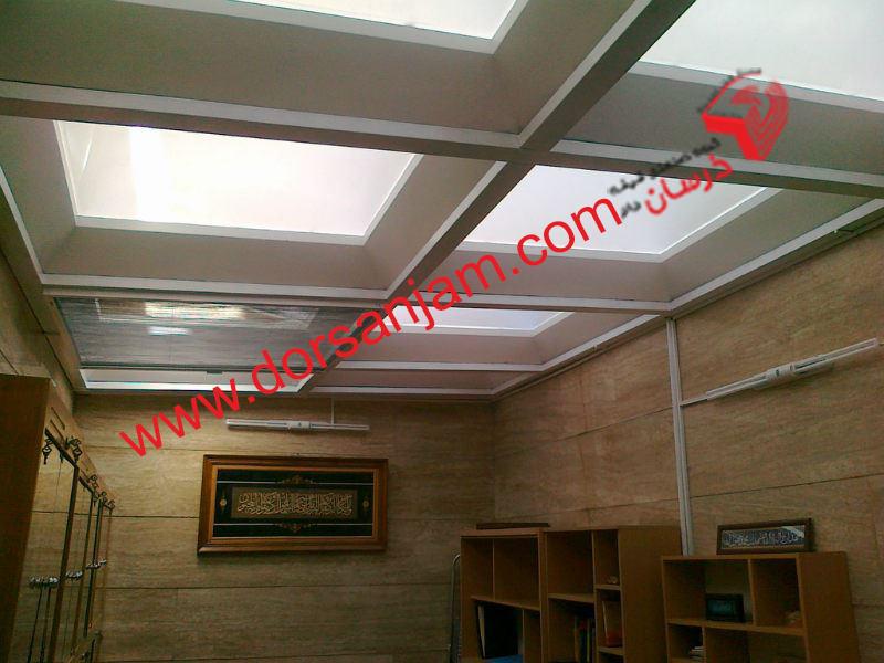 نصب کف شیشه ای و سقف شیشه ای 6