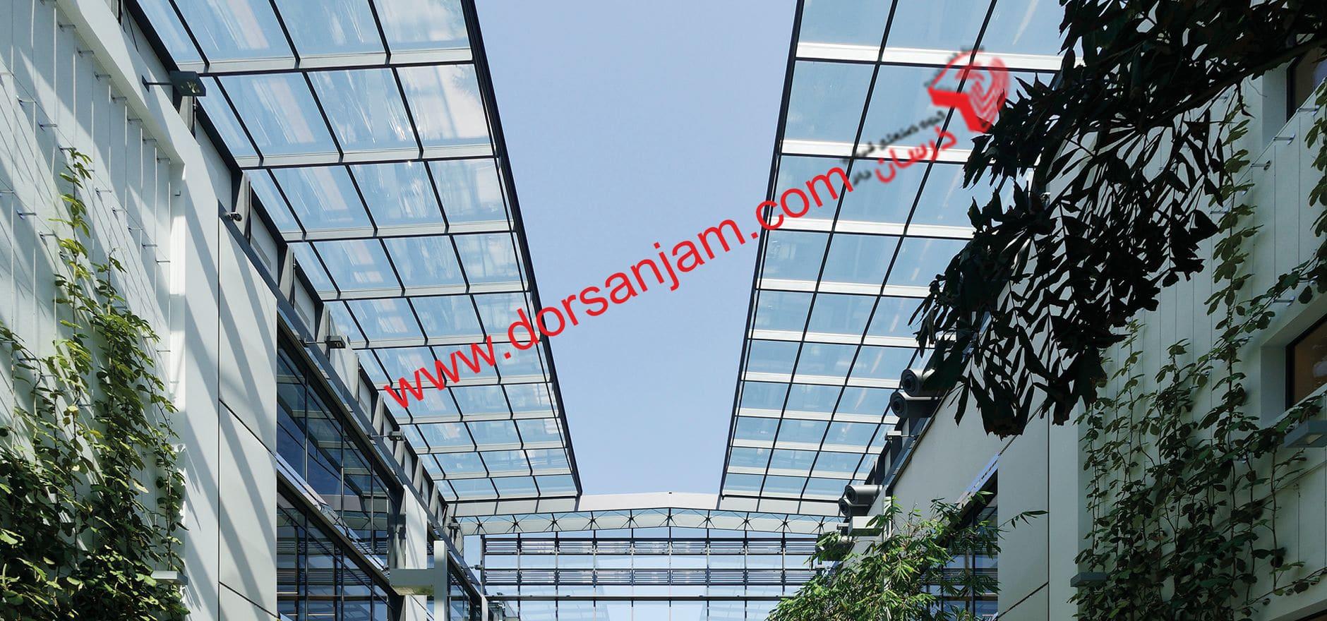 نصب کف شیشه ای و سقف شیشه ای 8