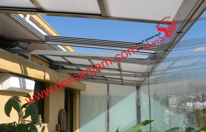 نصب کف شیشه ای و سقف شیشه ای 2