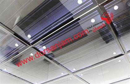 نصب کف شیشه ای و سقف شیشه ای 4