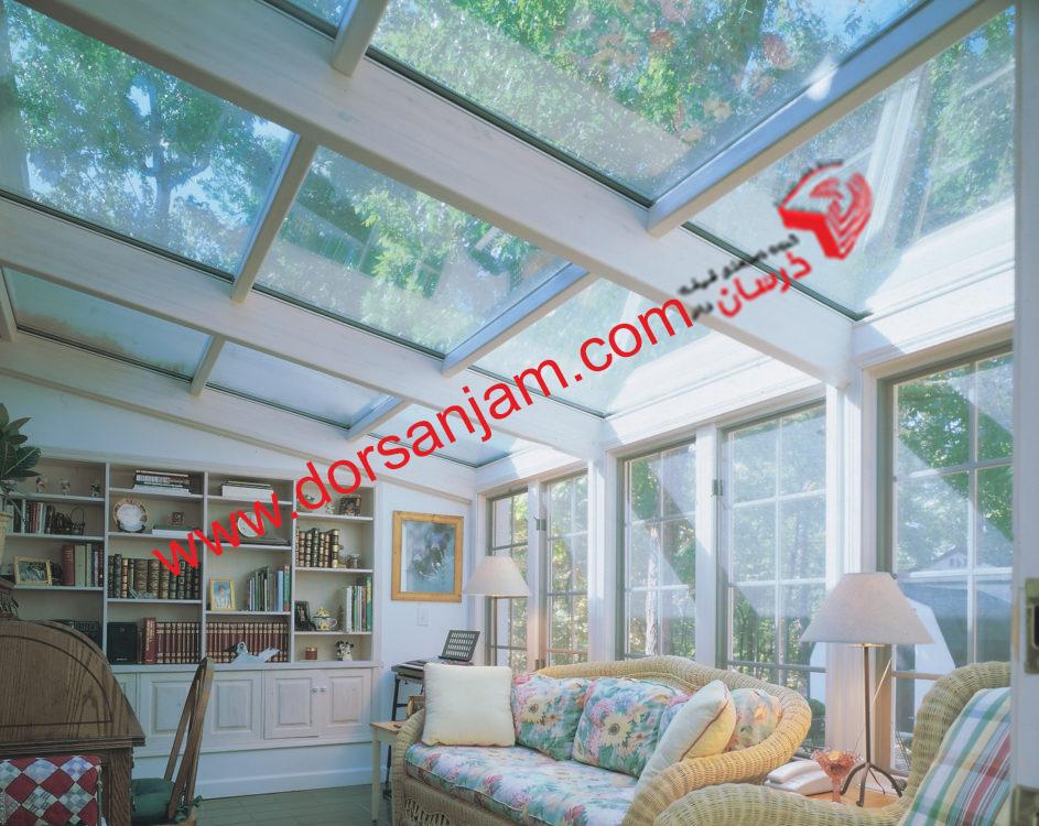 سقف شیشه ای درسان جام