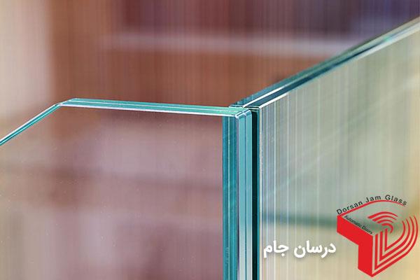 شیشه لمینیت جان پناه شیشه ای