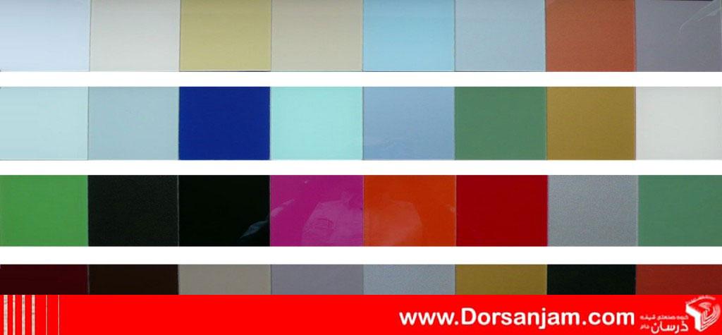 انواع رنگ شیشه لاکوبل